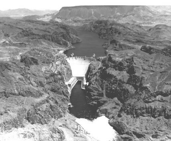 Black Canyon before Construction - The Hoover Dam Project