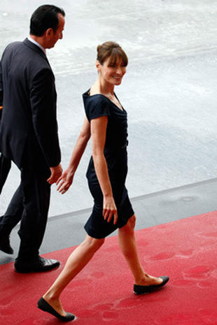 Carla Bruni's Stylish Bastille Day
