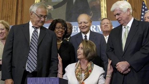 Nancy Pelosi, Barney Frank, Christopher Dodd