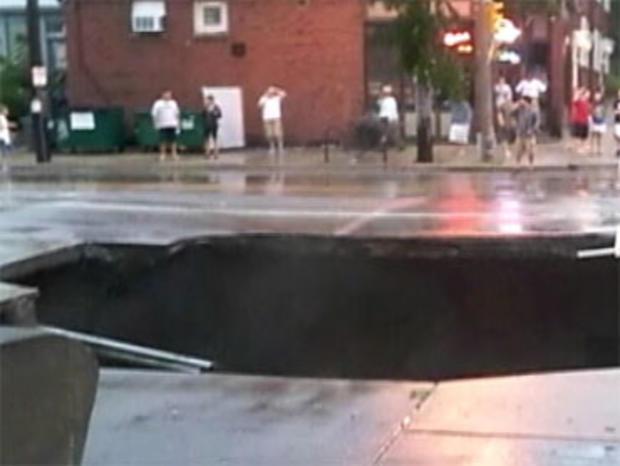 Milwaukee Sinkhole