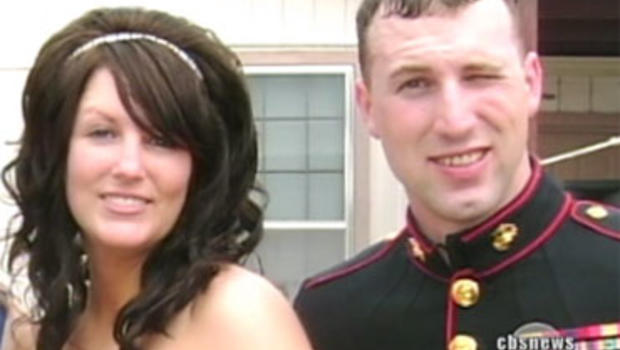 Krystal May's husband, Sgt. Kenneth May, was killed by a roadside bomb in Afghanistan.