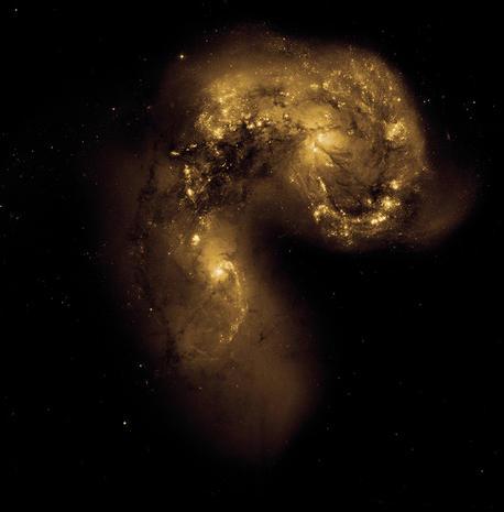 Views of The Antennae Galaxies