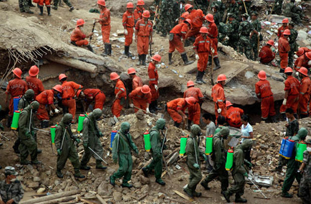 Floods, Landslide in China