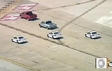 Car Chase on a Runway