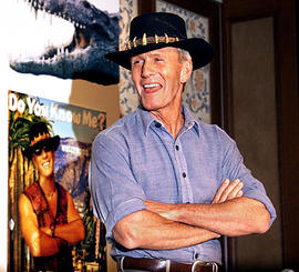"Paul Hogan, Star of ""Crocodile Dundee,"" Kept in Australia for Unpaid Taxes"