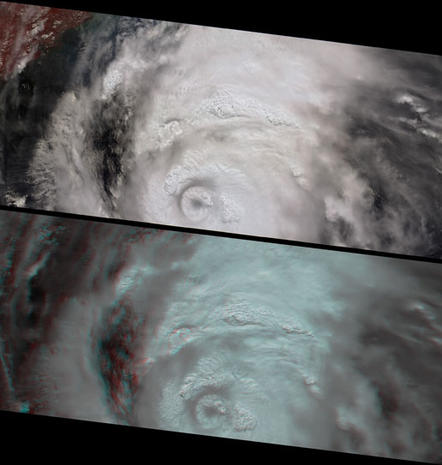 Katrina: Tracking the Course of a Killer Storm from Space