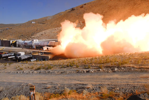 The Most Powerful Booster Rocket Ever Tested