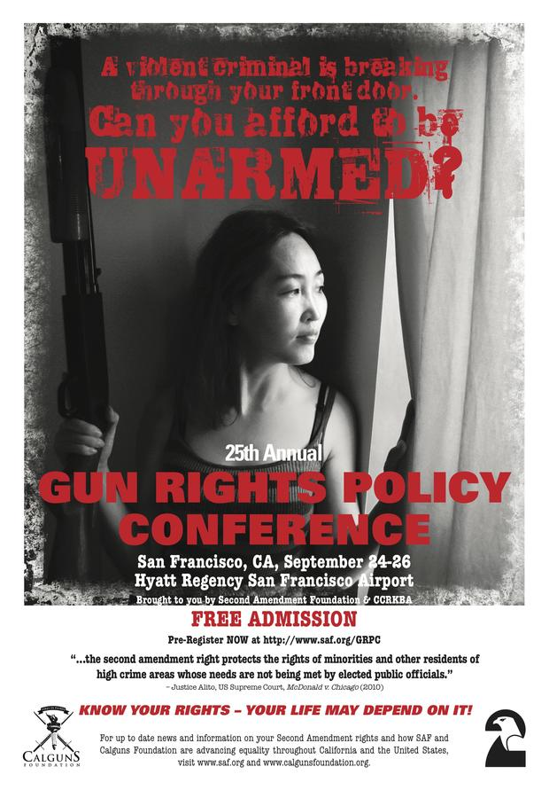 "caption: San Francisco says it's ""reviewing"" what to do about pro-gun ad, which violates city's anti-gun policy"