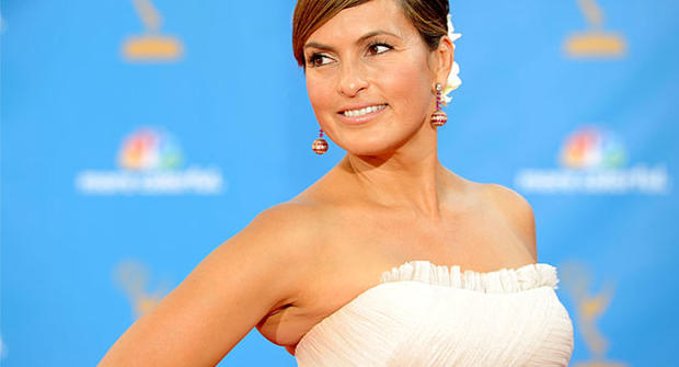 Mariska Hargitay arrives at the 62nd Annual Primetime Emmy Awards held at the Nokia Theatre L.A. Live on August 29, 2010 in Los Angeles, California.