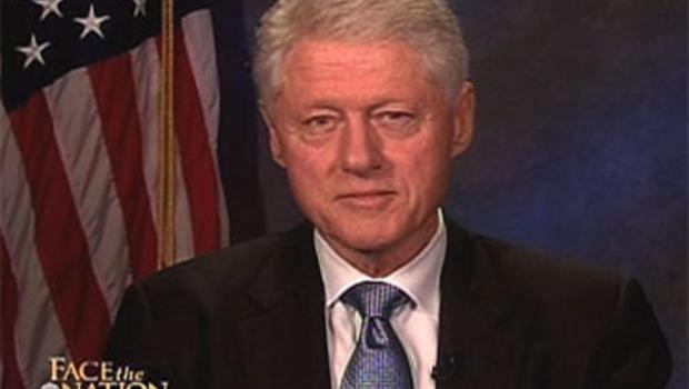"President Bill Clinton on ""Face the Nation,"" Sunday, Sept. 19, 2010."