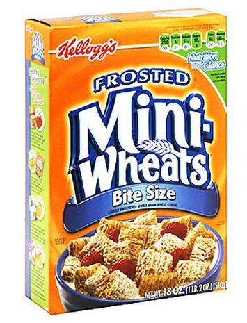 Kellogg's Frosted Mini-Wheats - 9