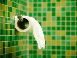 toilet paper, bpa, bathroom