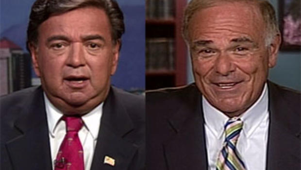 New Mexico Gov. Bill Richardson, left, and Pennsylvania Gov. Ed Rendell spoke on CBS' Face the Nation about why the Democratic base is lacking enthusiasm.