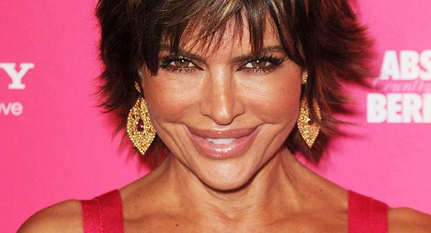 Lisa Rinna in Hollywood, Calif,. April 22, 2010.