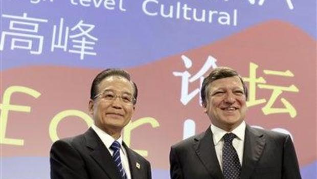 Wen Jiabao, Jose Manuel Barroso