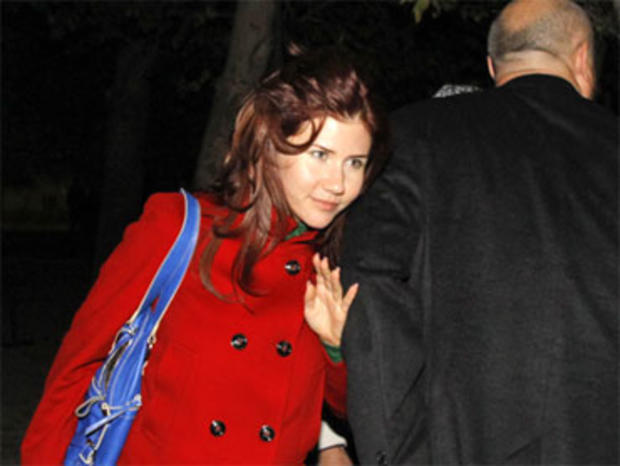 Anna Chapman (PICTURES): Russian Spy Makes Surprise Appearance at U.S.-Russia Rocket Launch