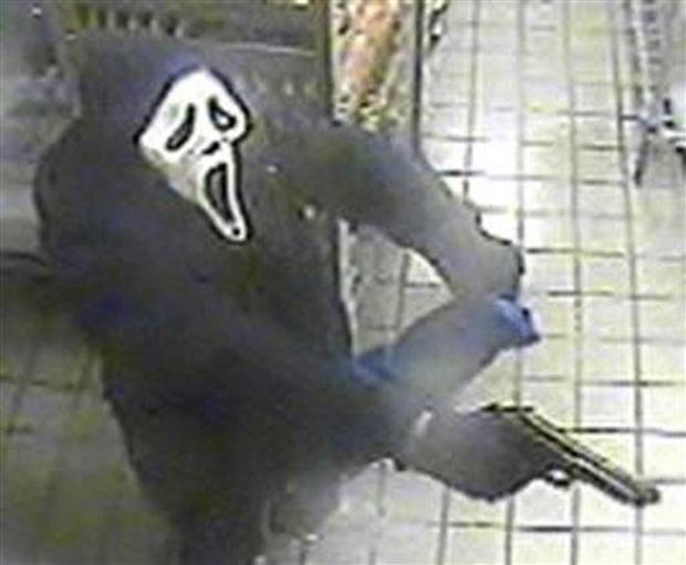 """""""Scream"""" Mask-wearing Bandit Attempts NY Robbery"""