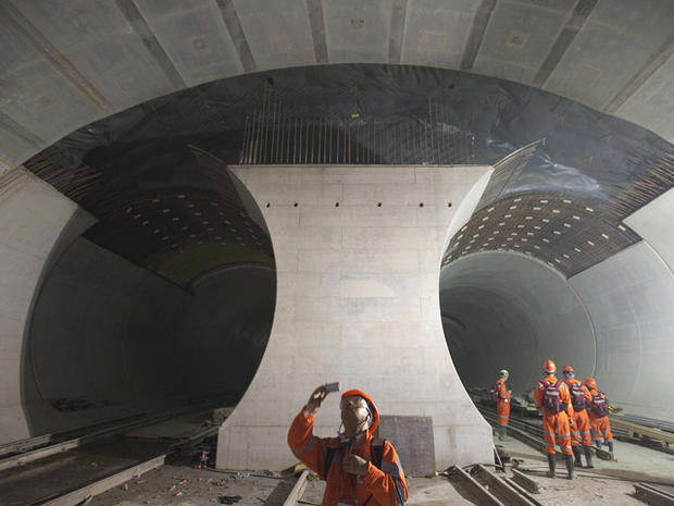 The World's Longest Tunnel, Step by Step