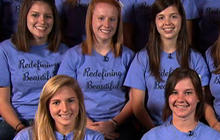 Texas Students Go Without Makeup