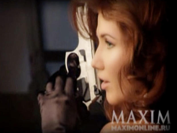 "Anna Chapman Maxim Photos Surface, ""Femme Fatale"" Strips Down for Russian Mag"