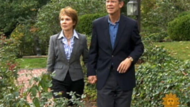"""David and Julie Nixon Eisenhower has a new memoir out called """"Going Home to Glory,"""" about the retirement of David's grandfather, President Dwight D. Eisenhower."""
