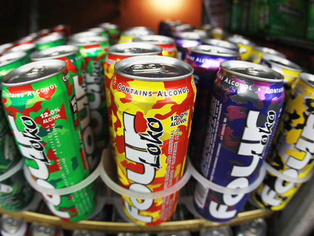 Four Loko and other caffeinated alcoholic drinks under FDA scrutiny.