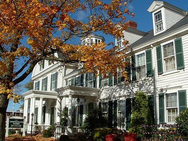 Sprague Mansion Halloween 2020 Sprague Mansion   Scariest Haunted Houses in U.S.   CBS News