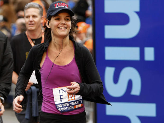 Celebs in the NYC Marathon