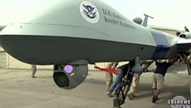 The Department of Homeland Security is now using a new tool for guarding the Mexican border that's proved very effective overseas: predator drones.