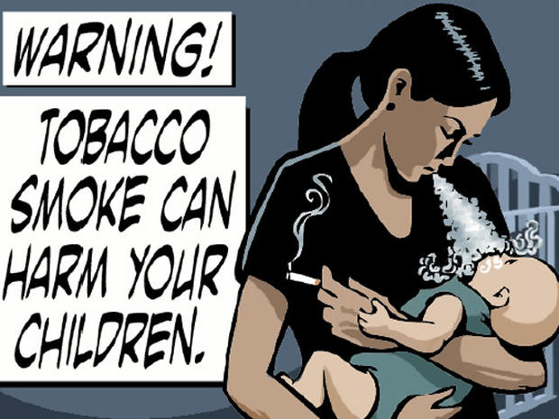 33 New Terrifying Tobacco Warning Labels