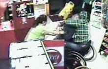 Man in Wheelchair Rescues Store Clerk