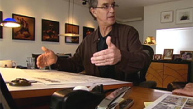 Comic strip artist Garry Trudeau