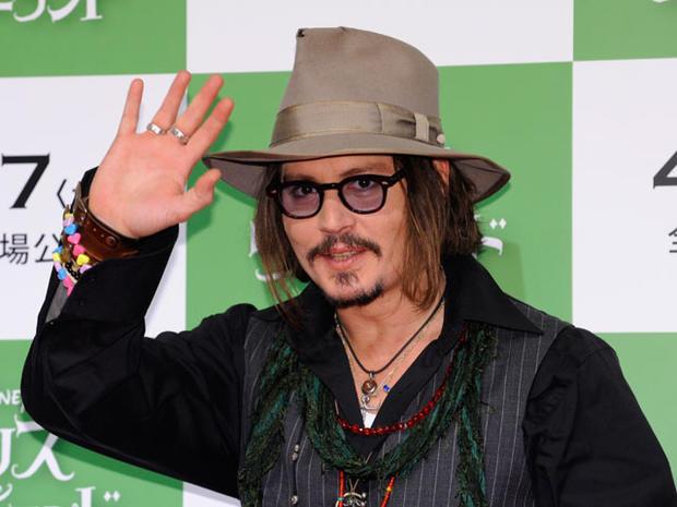 """Sexiest Man Alive"" 2009: Johnny Depp"