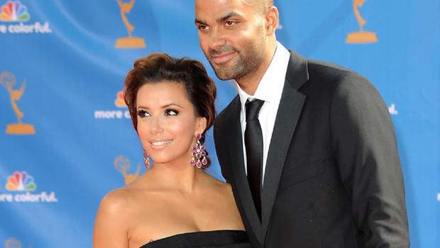 Who did tony parker cheat on eva longoria with