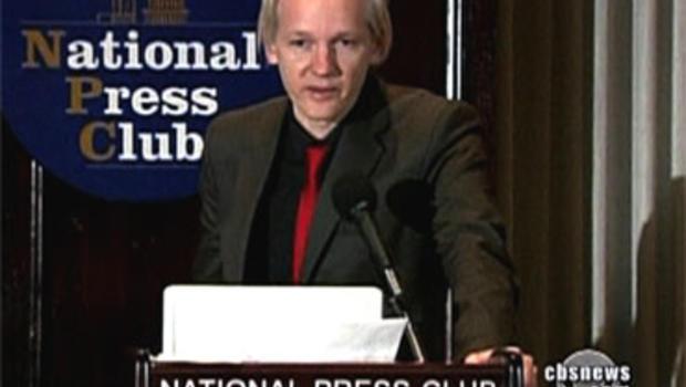 Julian Assange on Interpol's Most-Wanted List
