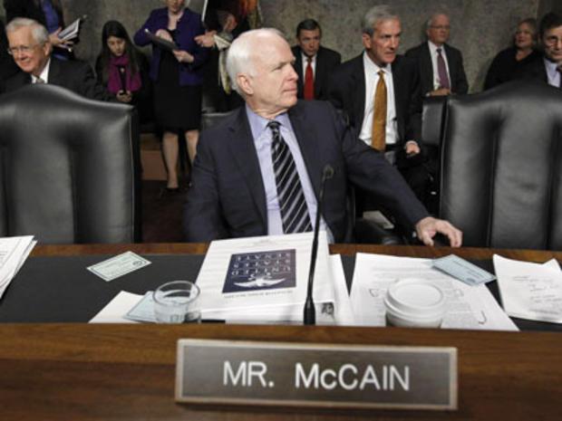 John McCain, DADT