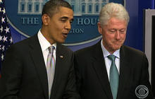 Obama Recruits Clinton for Tax Deal Pitch