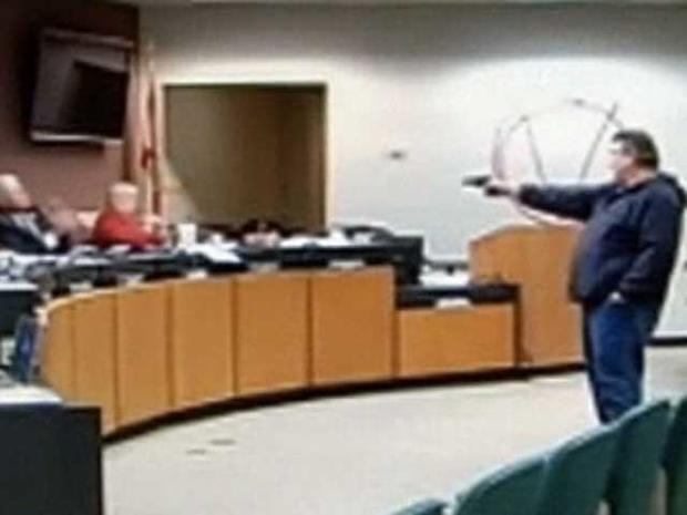 Fla. School Board Shooting Caught on Tape