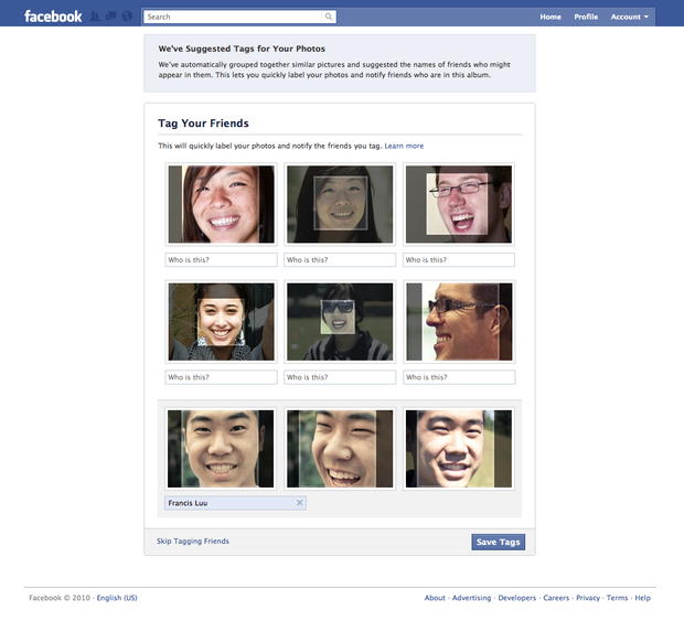How to disable Facebook's new facial recognition feature