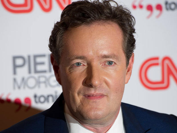 """British TV personality Piers Morgan has some very big shoes  to fill and TV fans a cross the country  will be watching when his  show replaces Larry King in CNN's  primetime  lineup. King """"hung up his suspenders""""  after 25 years on CNN Dec. 16."""