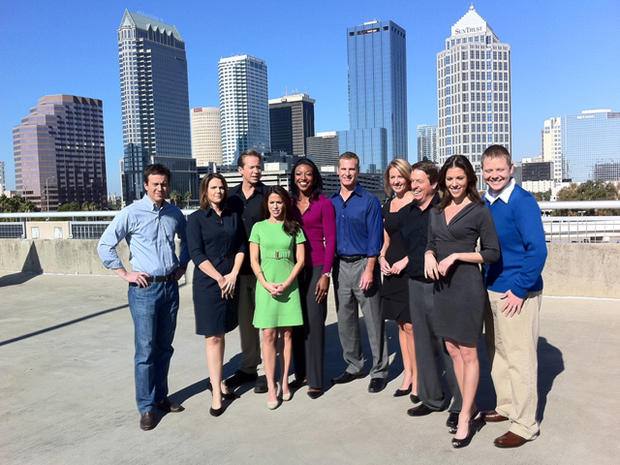 """Early Show"" Anchors Visit Tampa"