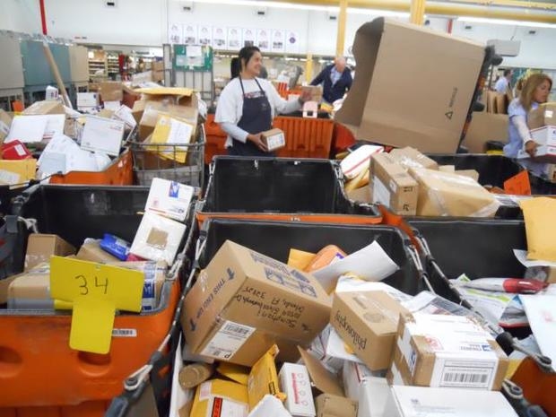 Quite a Busy Day at the Post Office
