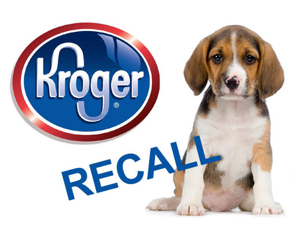 Kroger pet food recall.
