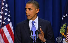 Obama Touts Last-Minute Triumphs