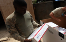 Holiday Packages Reach Most Remote Bases in Afghanistan