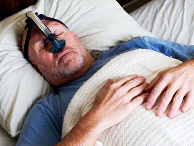 cpap, mask, man, apnea, sleep, istockphoto, 4x3