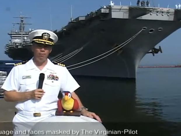 Navy Captain Owen Honors' Lewd Videos