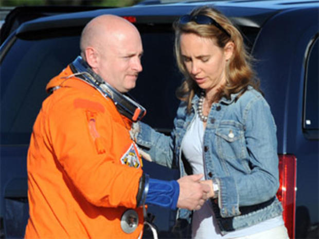 Gabriele Giffords Mark Kelly