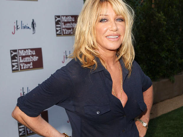 Suzanne Somers yoga