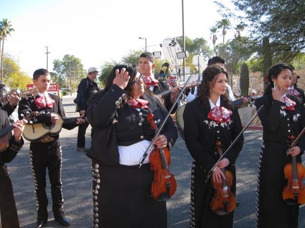 Memorial in Tucson